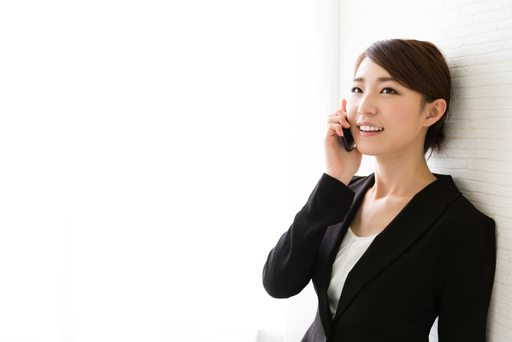 portrait of asian businesswoman in office